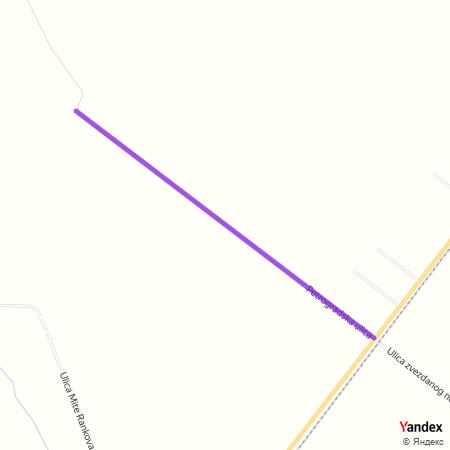 Петроградска улица на Yandex мапи