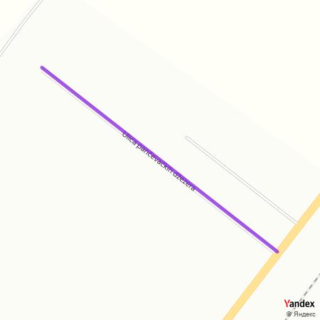 Улица панчевачких џезера на Yandex мапи