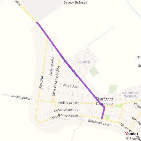 Улица панчевачки пут на Yandex мапи