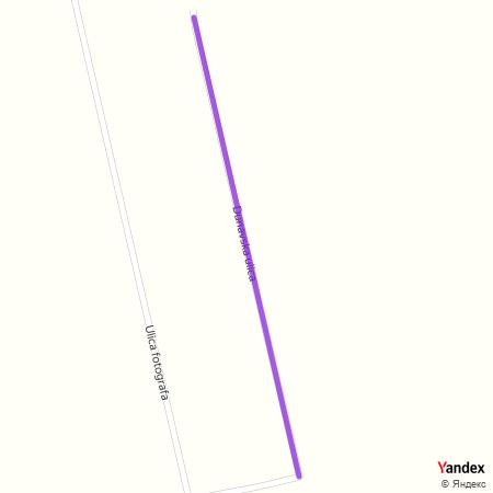 Дунавска улица на Yandex мапи