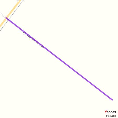Улица звезданог неба на Yandex мапи