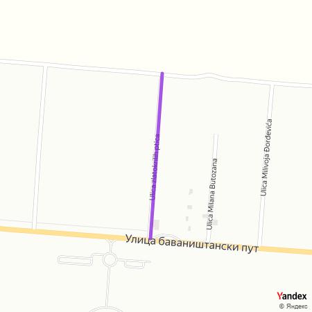 Улица златокрилих птица на Yandex мапи