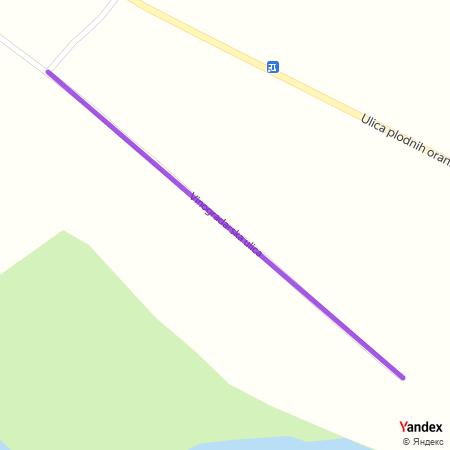 Виноградарска улица на Yandex мапи