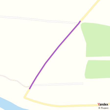 Пешчарска улица на Yandex мапи