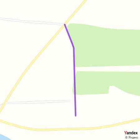 Улица српских јунака на Yandex мапи