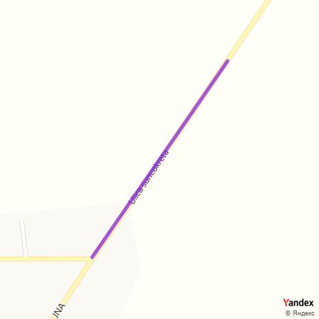Улица сунцокрета на Yandex мапи