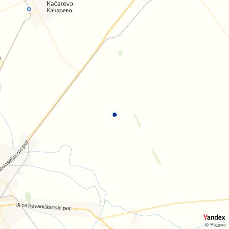 Пиварски засеок на Yandex мапи