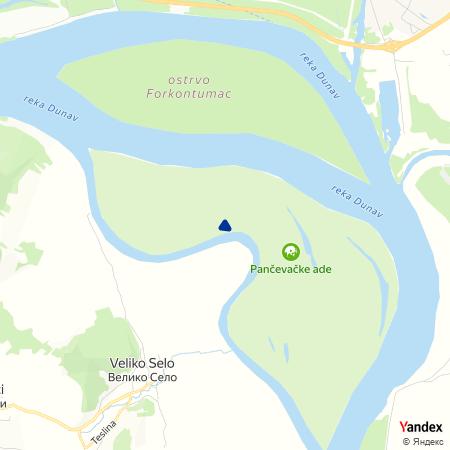 Паорски засеок на Yandex мапи