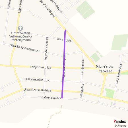 Улица иваначки пут на Yandex мапи