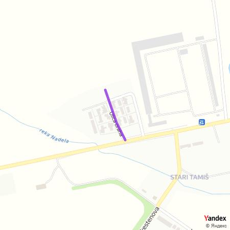 Улица ораха на Yandex мапи