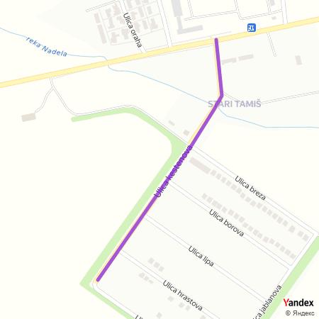 Улица кестенова на Yandex мапи