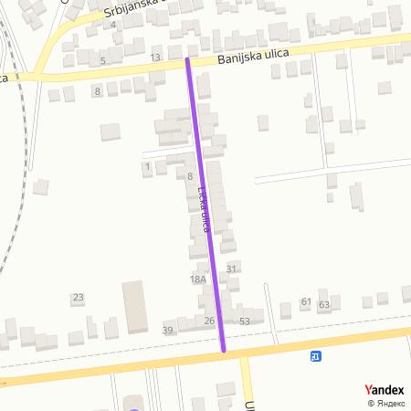 Личка улица на Yandex мапи