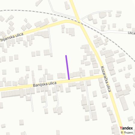 Гочка улица на Yandex мапи