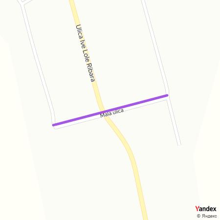 Мала улица на Yandex мапи