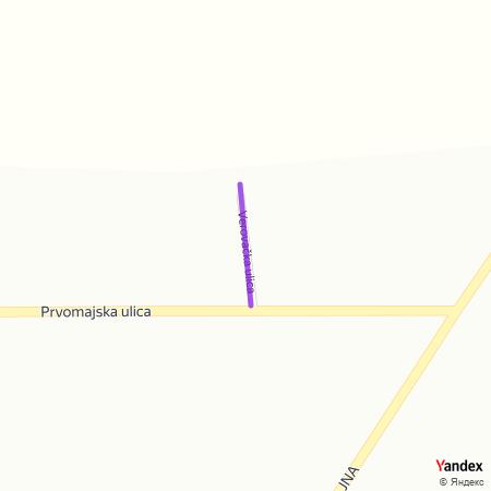 Веровачка улица на Yandex мапи
