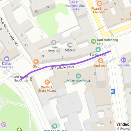 Yandex мапа Панчева