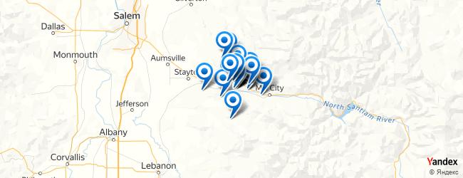 Lyons Oregon Map.Top Things To Do In Lyons Oregon Afabuloustrip