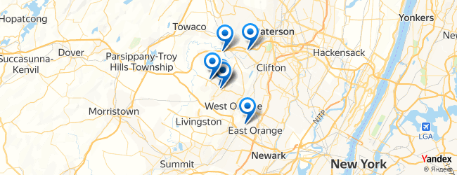 Caldwell New Jersey Map.Best Restaurants In Caldwell New Jersey Afabuloustrip
