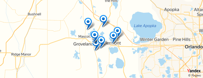 Groveland Florida Map.Top Things To Do In Groveland Florida Afabuloustrip