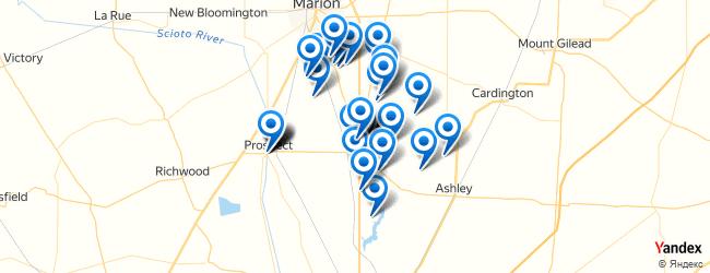 Waldo Ohio Map.Top Things To Do In Waldo Ohio Afabuloustrip