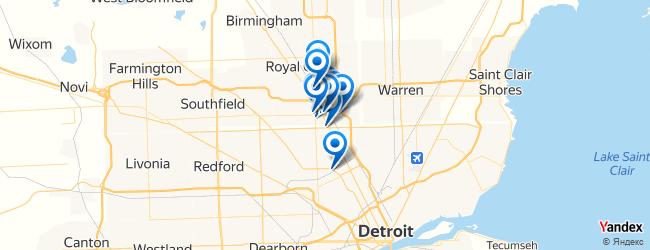 Ferndale Michigan Map.Sports Activities In Ferndale Michigan Afabuloustrip
