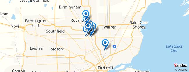 Ferndale Michigan Map.The Best Nightlife In Ferndale Michigan Afabuloustrip