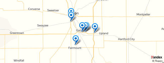 Gas City Indiana Map.Best Places To Shop In Gas City Indiana Afabuloustrip