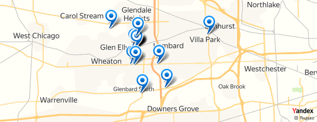 Glen Ellen Illinois Map.Best Restaurants In Glen Ellyn Illinois Afabuloustrip