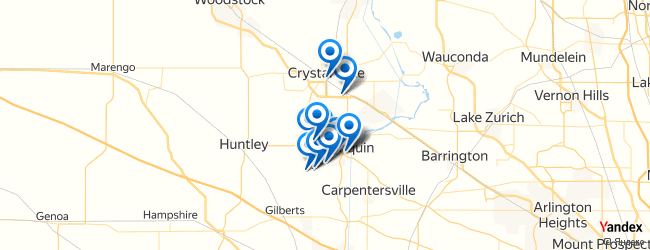 Algonquin Illinois Map.Top Arts Entertainment In Algonquin Illinois Afabuloustrip
