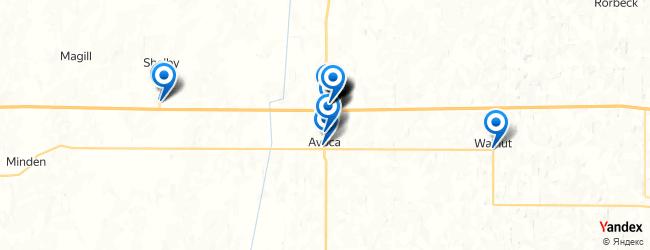 Avoca Iowa Map.Best Restaurants In Avoca Iowa Afabuloustrip