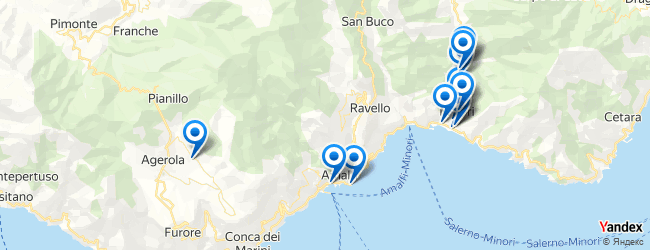 Maiori Italy Map.Travel And Transport In Maiori Sud Italy Afabuloustrip