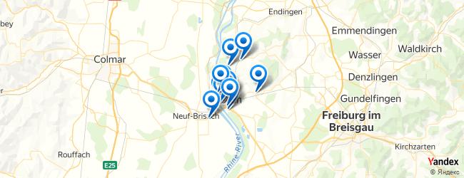 Breisach Germany Map.Sports Activities In Breisach Am Rhein Baden Wurttemberg Germany