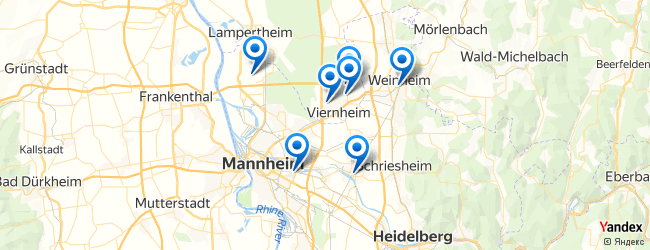 Map Of Viernheim Germany.Travel And Transport In Viernheim Hesse Germany Afabuloustrip