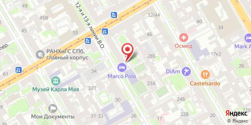 Бар Pinta / Пинта, Санкт-Петербург, 12-я линия В.О., 27 (Отель Marco Polo Saint-Petersburg, 1 этаж)