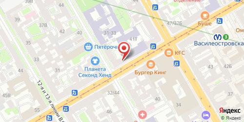 Кафе Шоколадница, Санкт-Петербург, Средний пр. В.О., 45