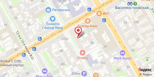 Суши-бар Сайхо, Санкт-Петербург, 10-я линия ВО, 25
