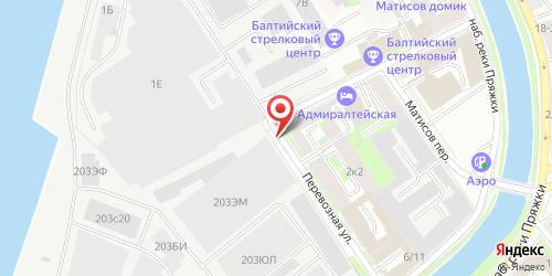 ЕдаВода 24 (EdaVoda 24), Перевозная ул., д. 1, литер А