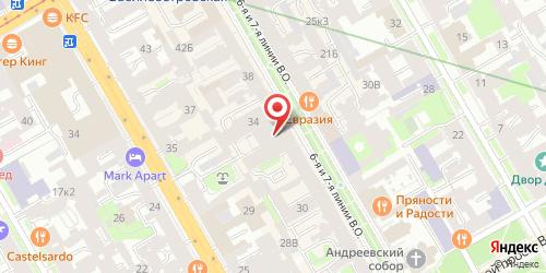 Бистро Фрикадельки, Санкт-Петербург, 7-я линия В.О., 34