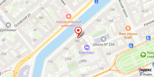 Ресторан-пивоварня Бирштубе, Санкт-Петербург, набережная канала Грибоедова, д. 166