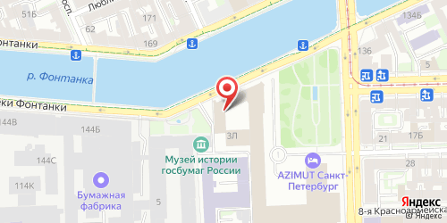 Ресторан Одесский бульвар, Санкт-Петербург, Фонтанки реки наб., 142