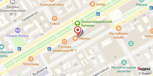 Ресторан Graf-in, Санкт-Петербург, Конногвардейский бульвар, д. 4