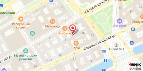 Бар 6th Floor Terrace / Терраса, Санкт-Петербург, Почтамтская ул., 4 (Ренессанс Санкт-Петербург Балтик Отель, 6 этаж)