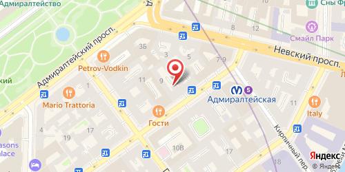 Кафе Штрудель, Санкт-Петербург, Малая Морская ул., 9