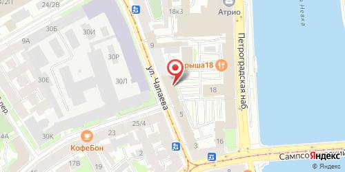Бар-ресторан BarAnka / Баранка (РГ Гинза Проджект), Санкт-Петербург, Чапаева ул., 5 (БЦ Сити)