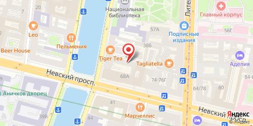 Бар Фокус Бар, Санкт-Петербург, Фонтанки реки наб., 40