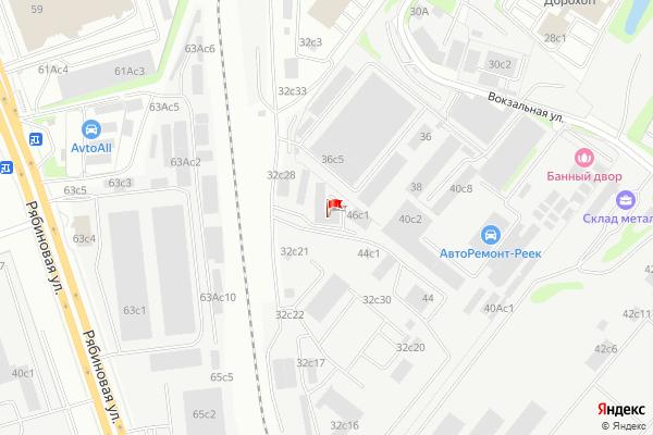 Yandex Map of 37.436984,55.683275