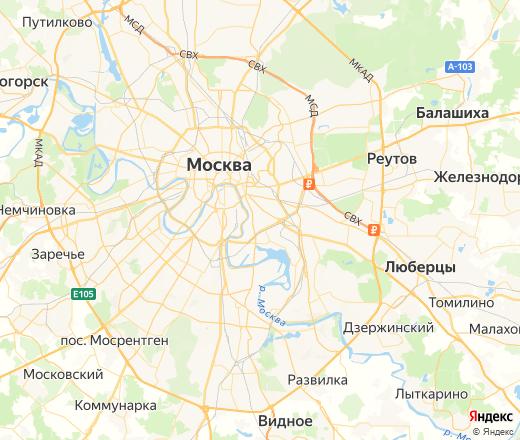Карта Москвы: улицы, дома, организации — Яндекс.Карты