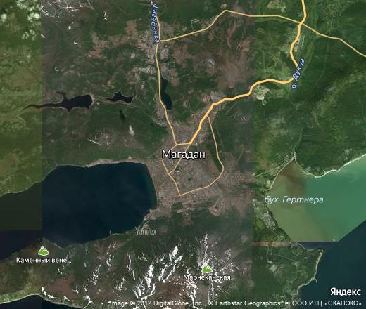 Местность фото со спутника нижневартовский район