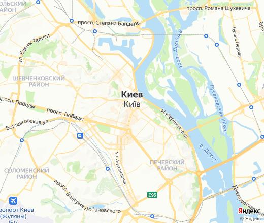 Яндекс.Карты — подробная карта Украины и мира