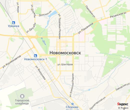 заявляют, карта новомосковска картинка стала